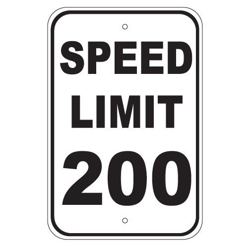 Speed Limit 200