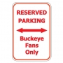 Buckeye Parking Only
