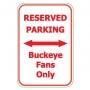 Buckeye Parking Only