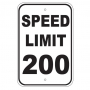 Speed Limit 200