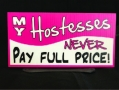 Table top sign - Hostess