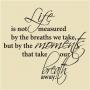 WA -01 Life Not Measure
