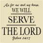 WA -02 Serve The Lord