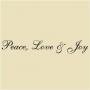 WA -15 Peace Love Joy