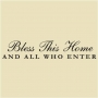 WA -16 Bless This Home