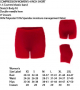 2021 Women's Compression Short- REQUIRED